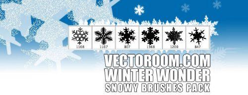 vectores de invierno
