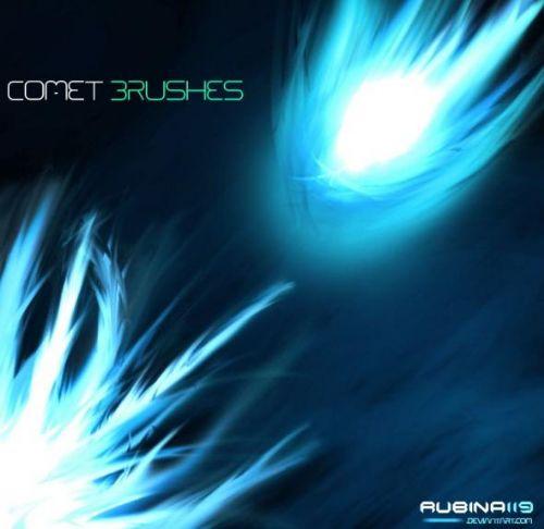 pinceles cometas