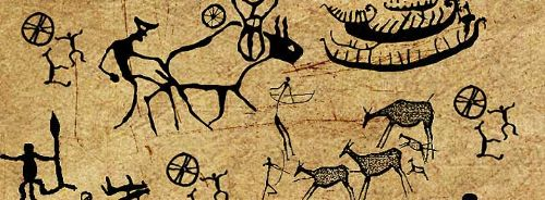 arte primitivo pinceles