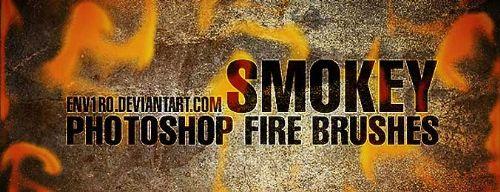 pinceles humo