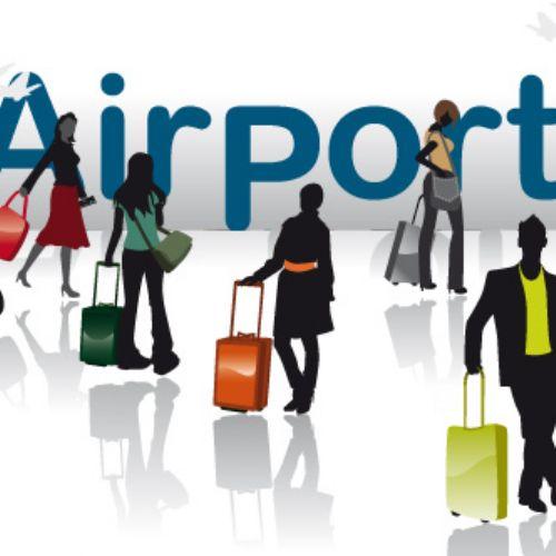 vectores aeropuerto