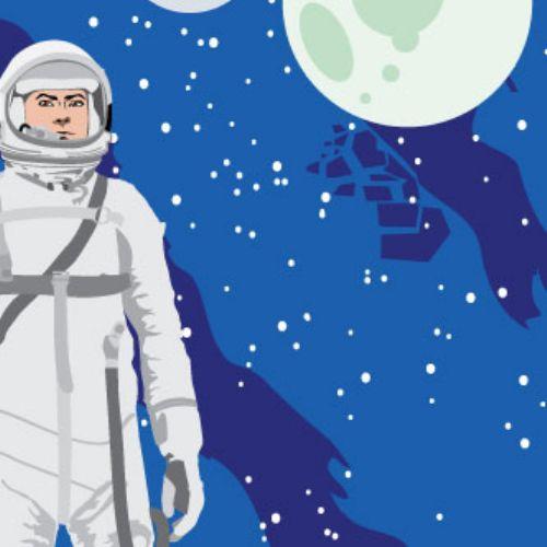 vector astronauta