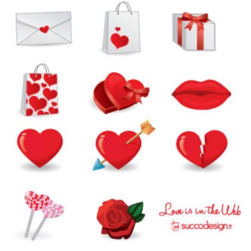 iconos de amor