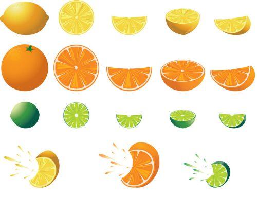 pinceles frutas