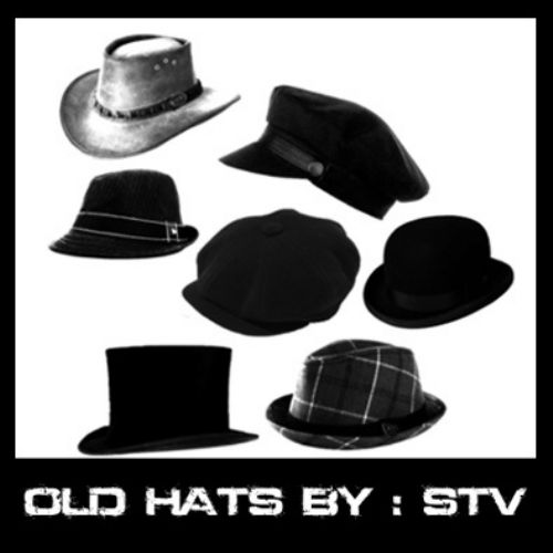 pinceles sombreros