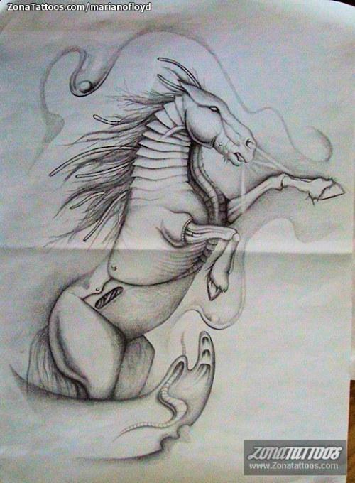 caballo tatuaje