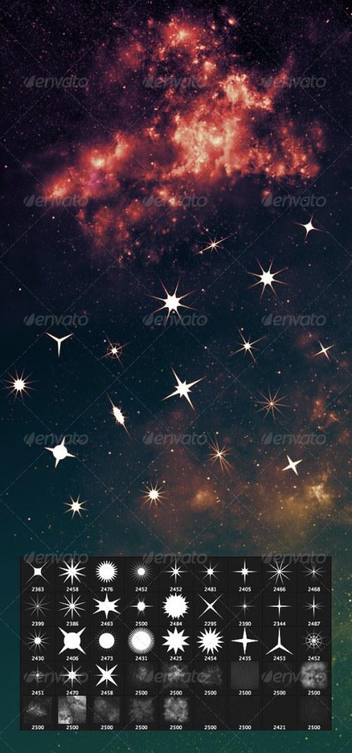 pincel estrellas