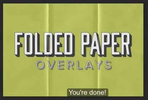 textura de papel doblado