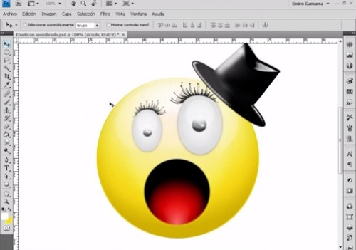 emoticon photoshop
