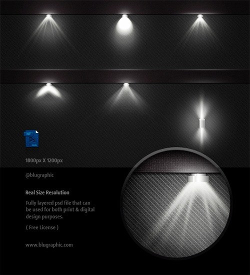 luces photoshop