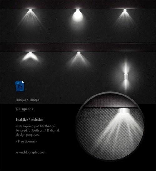 luces photoshop