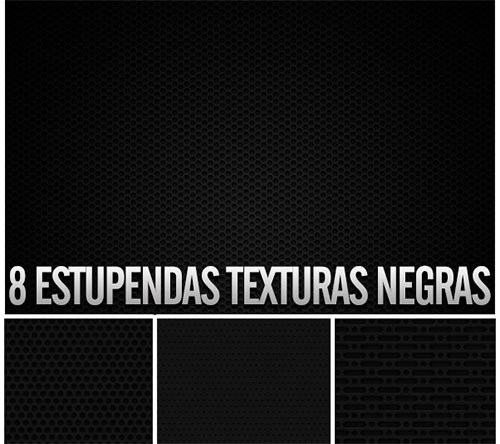 texturas negras