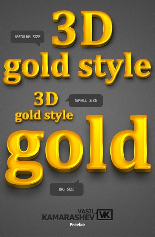 estilos 3d