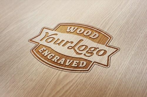 logo de madera