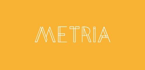 tipografia metria gratis