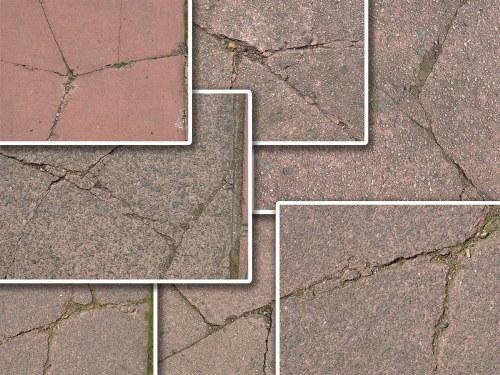 textura pavimento agrietado