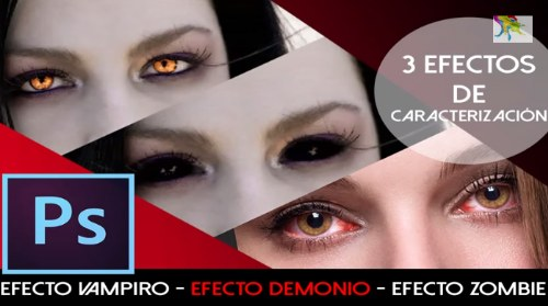 efecto ojos photoshop tutorial