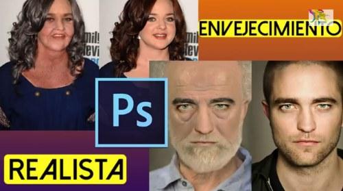 efecto envejecimiento tutorial photoshop