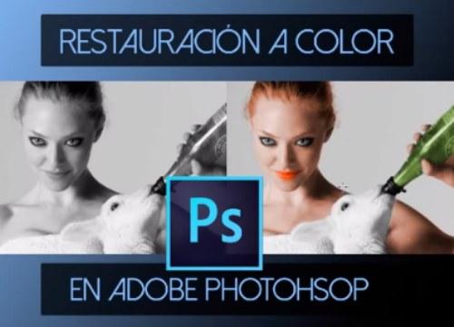 tutorial restaurar color