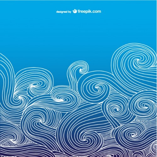 vectores illustrator ornamental azul gratis