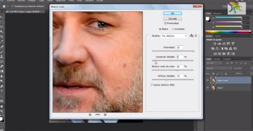 tutorial corregir imperfecciones rostro photoshop