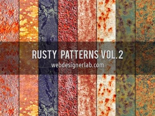 patterns oxidados grunge photoshop