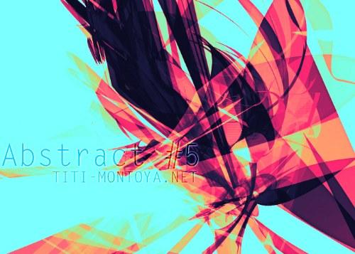 pinceles abstractos coloridos photoshop