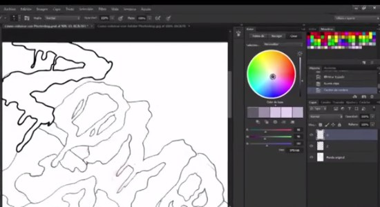 colorear en photoshop tutorial
