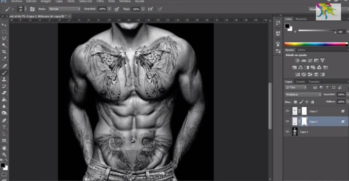 colocar tatuajes con photoshop gratis tutorial