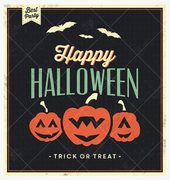 fondo vector psd halloween gratis