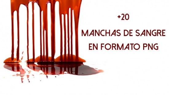 salpicaduras sangre pinceles photoshop gratis