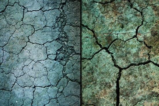 grunge grietas piso textura photoshop