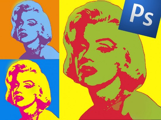 ardy warhol efecto pop art photoshop tutorial