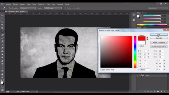 efecto periodico photoshop