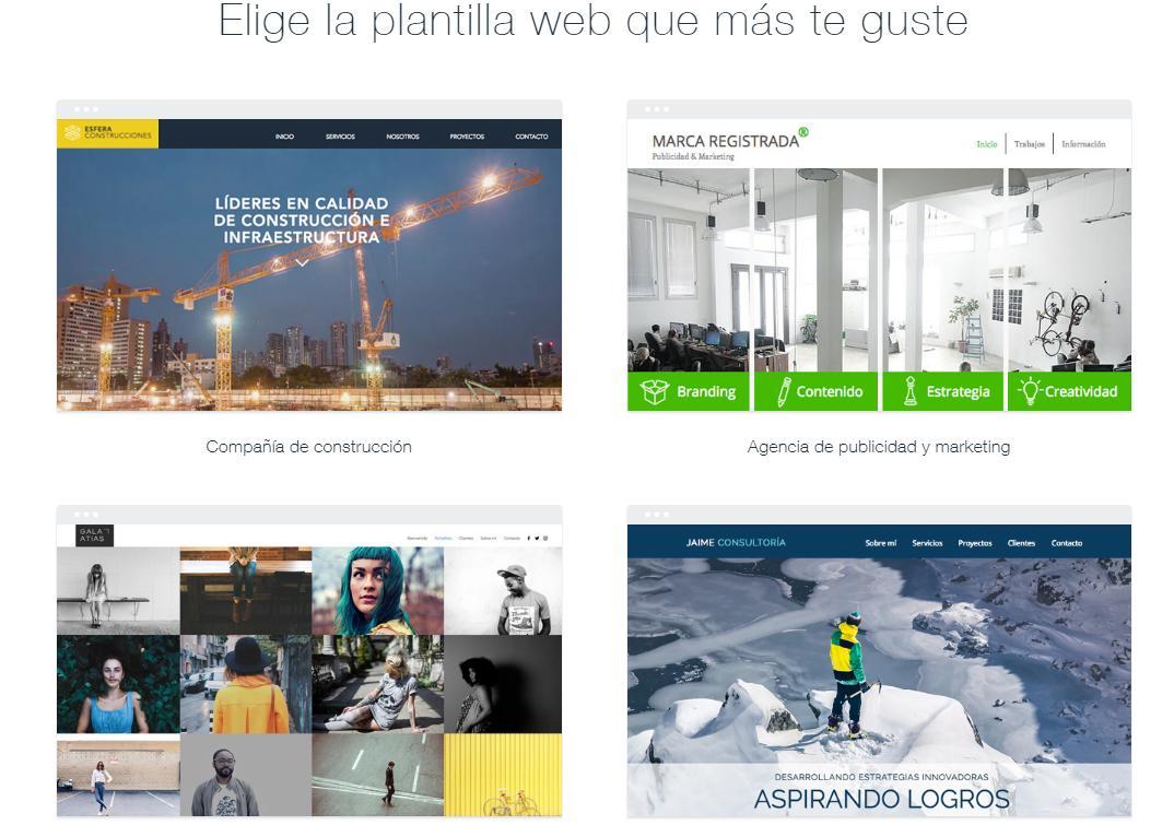 crea paginas webs gratis